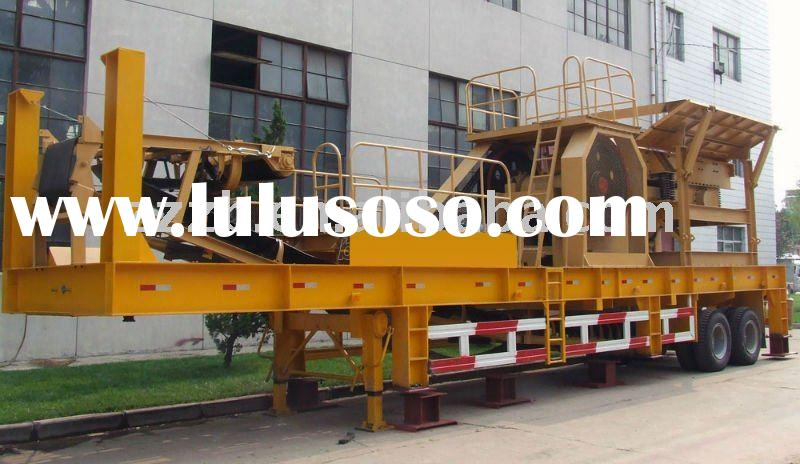 2011 Mobile crushing plant( hot sale in Pakistan)