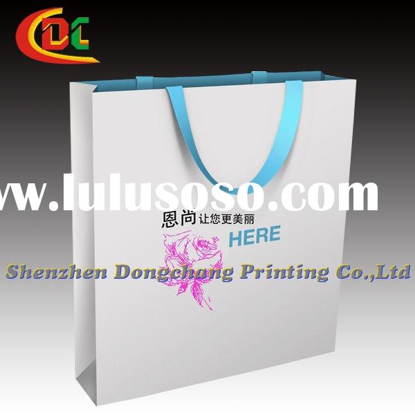 2011 color art paper bags