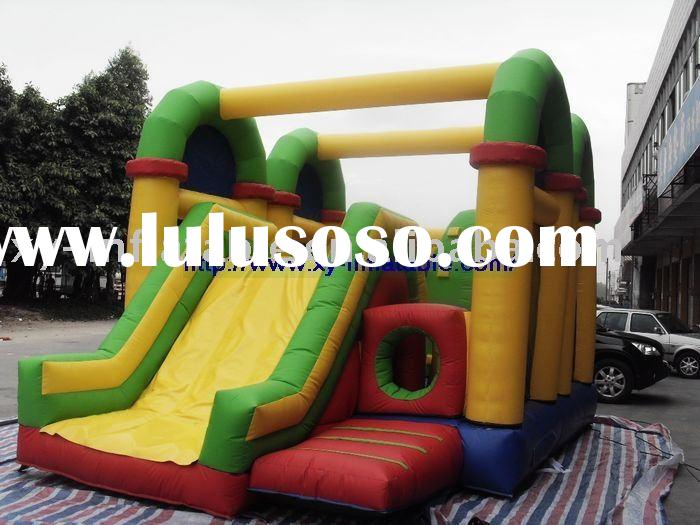 2011 hot sale inflatable mini bouncer slide