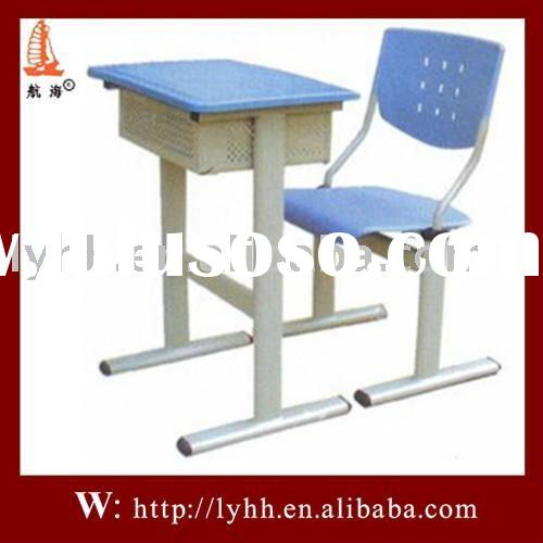 2011 hot-selling steel school desk and chair