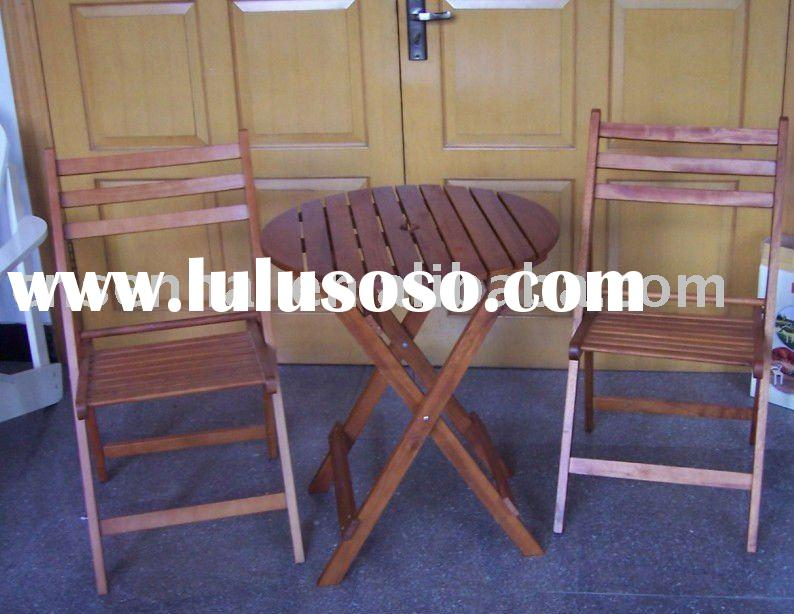 2012Wooden table set