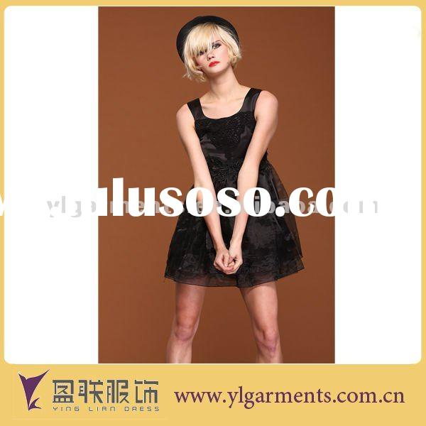 2012 new design ladies casual dresses summer