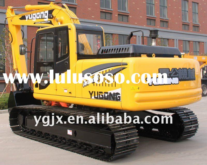 2012 the newest construction machinery 15 ton 0.55 m3 crawler excavator with air-condition