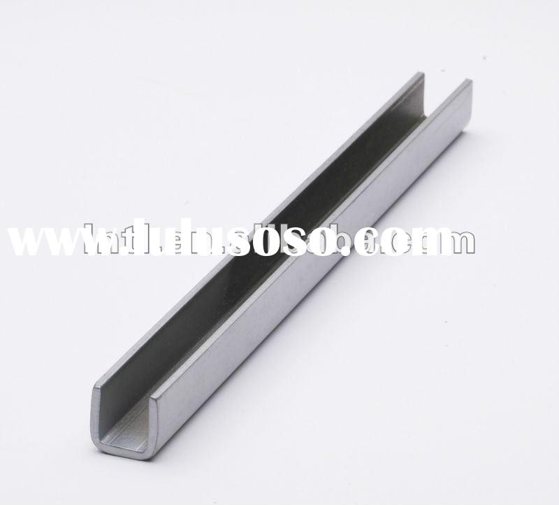 321 U shape Stainless steel channel bar