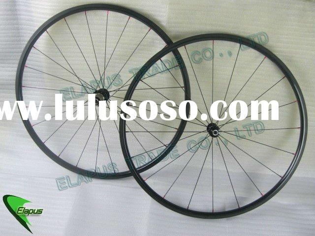 700C 20mm clincher carbon cycling wheels clincher
