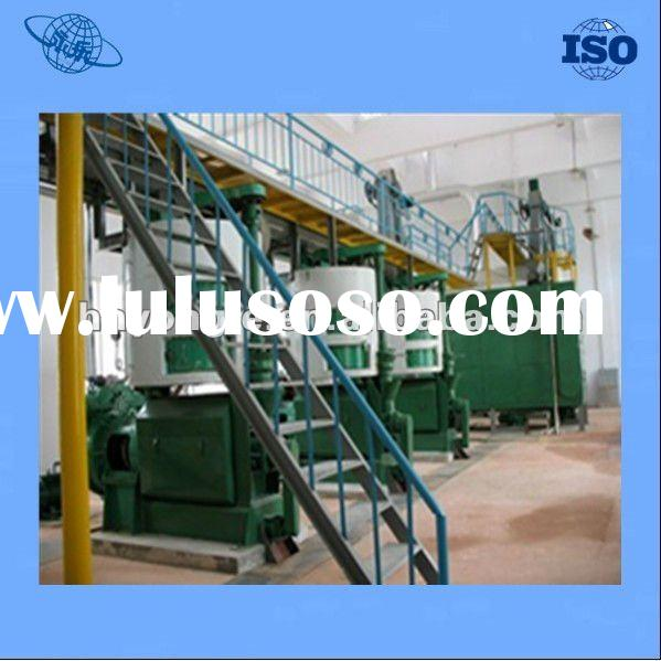 Automatic continuous 3-300 ton sunflower seeds oil making/press machine with ISO