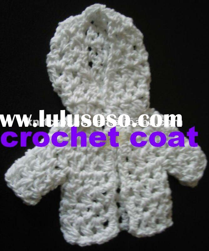 Baby Shower Party Favors Mini Crochet Coat Gift