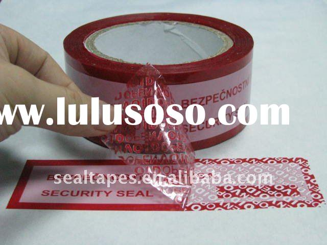 Best Quality Tamper Evident Security Tape