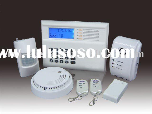 Best quality gsm wireless home security fire alarm