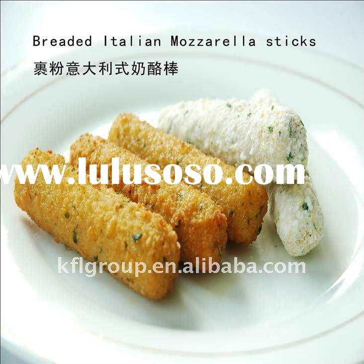 Breaded Italian Mozzarella cheese Sticks