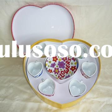 Ceramic/ Porcelain Coffee Cup And Saucer 80cc