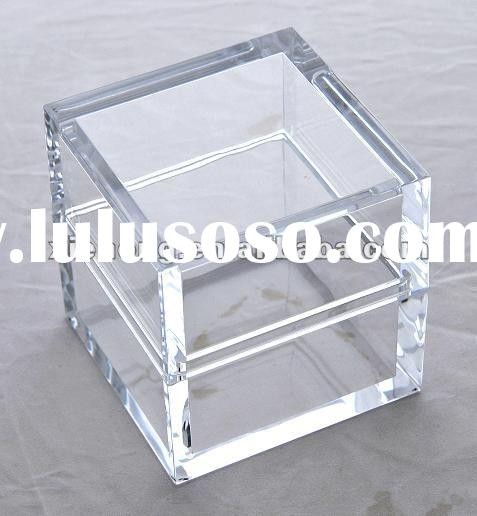 Clear plastic tea cups and saucers