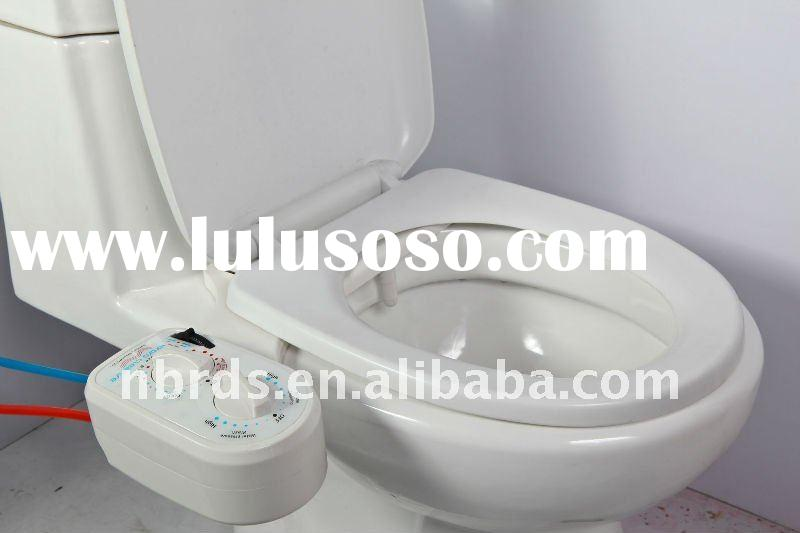 DIY non-electronic cold and hot water bidet part
