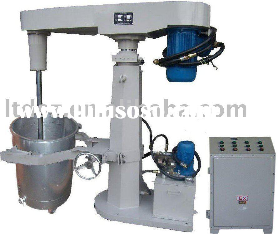 FS high speed fully explosion-proof water/solvent based cowles paint mixer