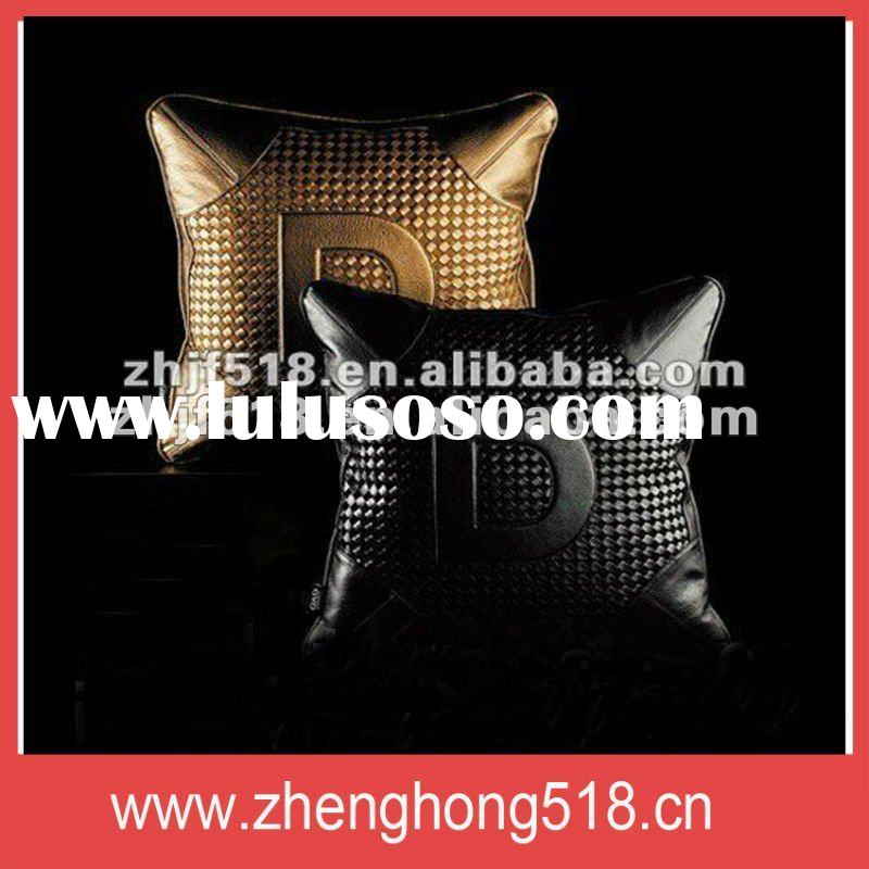 Fashion leather seat cushion cover sofa(KB1515)