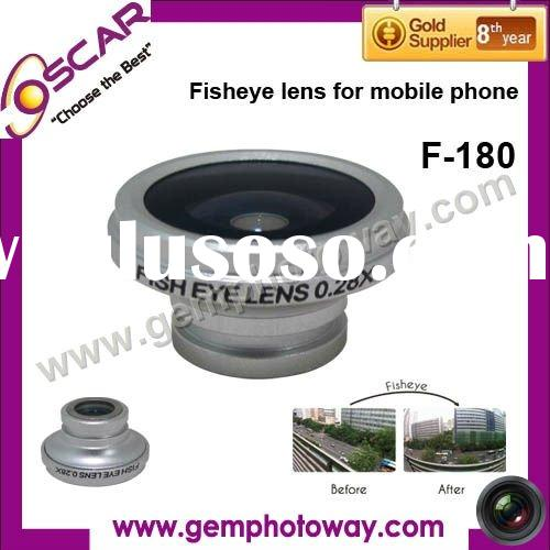 Fisheye lens Camera Lens for iphone extra parts Mobile Phone lens FE-180