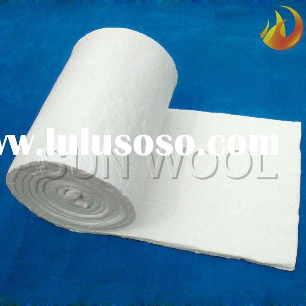 Glass melting furnace dedicated High temperature ISO ceramic fiber blanket
