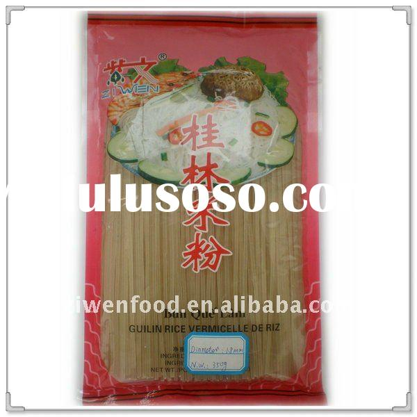 Grain product dried rice vermicelli pasta