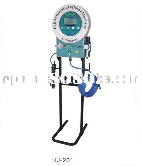 HJ-201 Full Automatic Tire Inflator For Air