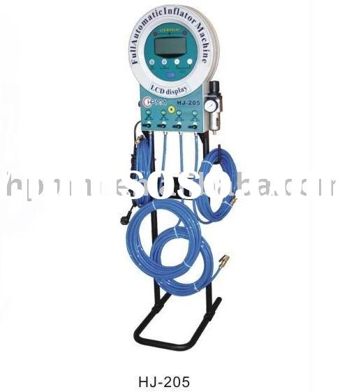 HJ-205 Full Automatic Tire Inflator For Air