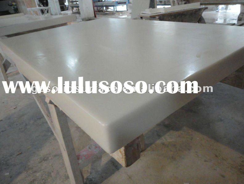 High Perfect corian coffee restaurant table furniture&solid surface dining table