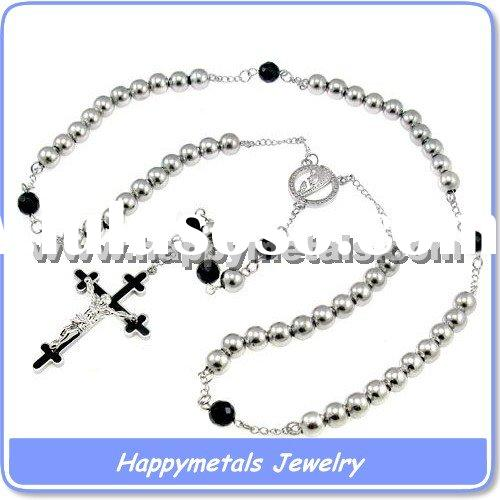 High end Rosary Beads Necklace (N5722)