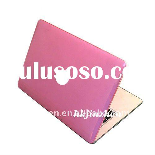 High quality laptop skins Rubberized HOT PINK Hard Case Cover for Macbook PRO