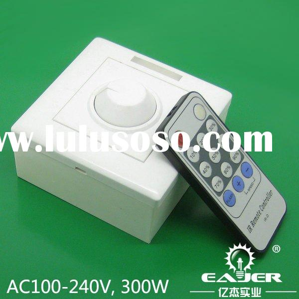 Highly recommend 300w 100-240vac remote control light dimmer