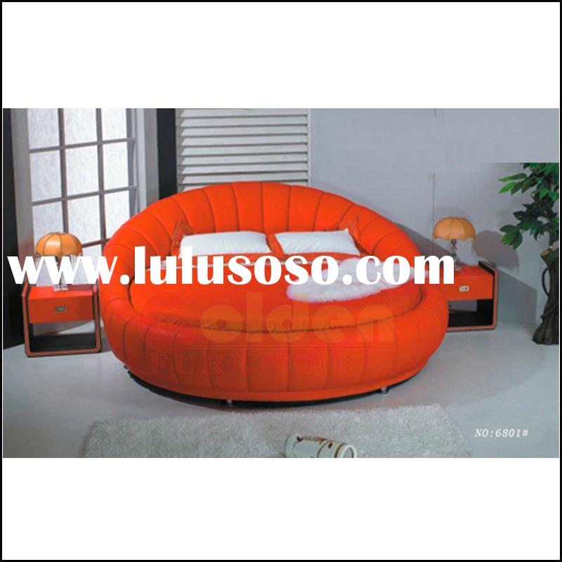 Round bed on sale 8059 for sale price china manufacturer for Round bed designs with price
