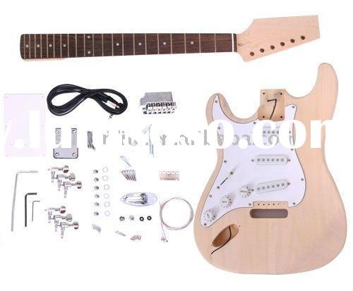 Left Hand DIY Electric Guitar Kit GK SST 10L