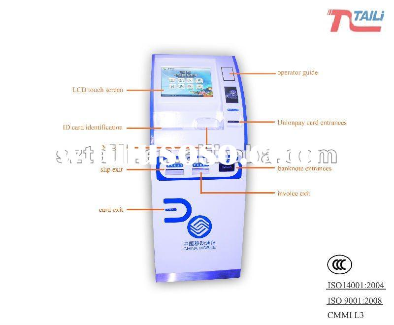 Lobby Payment touch screen self service display mall kiosk TLST-1010