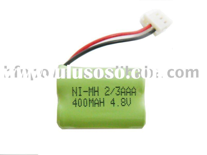 NIMH Battery Pack (Rechargeable 400mAH 4.8V 2/3AAA)