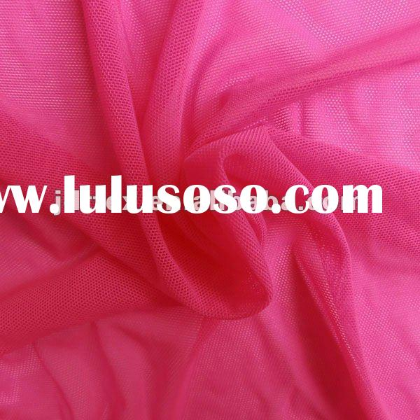 New Arrival Nylon Spandex Solid Mesh Fabric