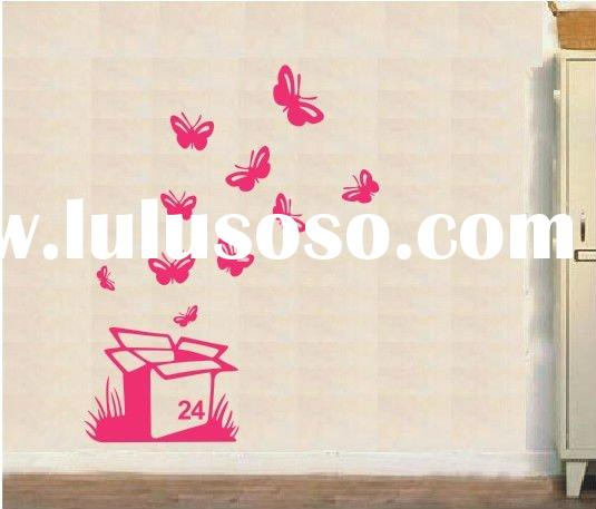 New Fashion Decorative Wall Stickers Butterfly F233