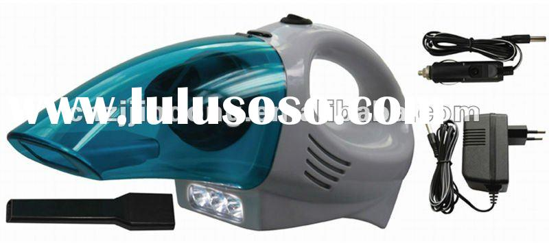 New Rechargeable Portable Handheld High-Power LED style Car Vehicle Vacuum Cleaner 60W