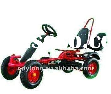 New children pedal gokart,with reverse gear,adjustable seat and steering wheels