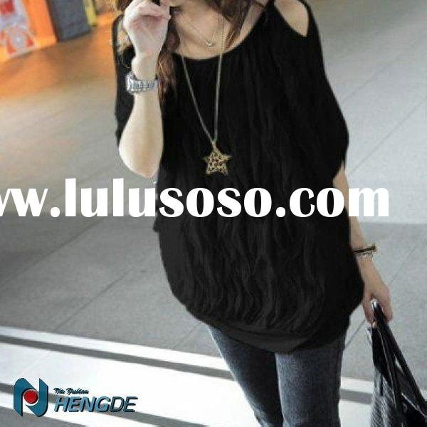 New fashion women formal tops and blouses WT0123