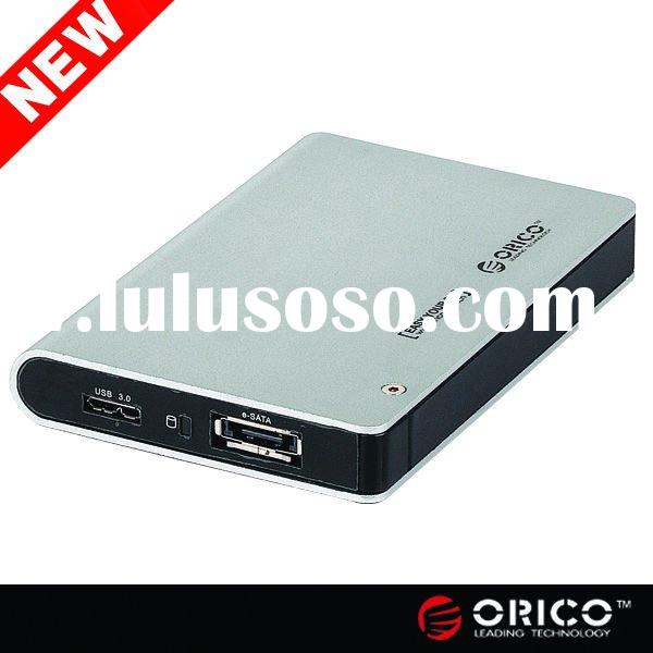 "ORICO 2598SUS3 2.5"" SATA HDD 12.5mm 9.5mm HDD enclosure USB 3.0 e-SATA Hard Drive caddy HDD cas"