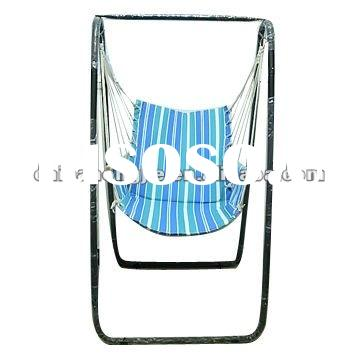Portable garden hanging swing cushion seat with armrest