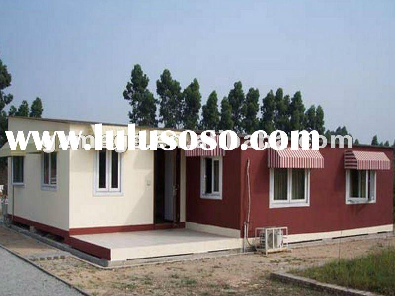 Prefabricated wood house sip prefab villa for sale for Sip house cost
