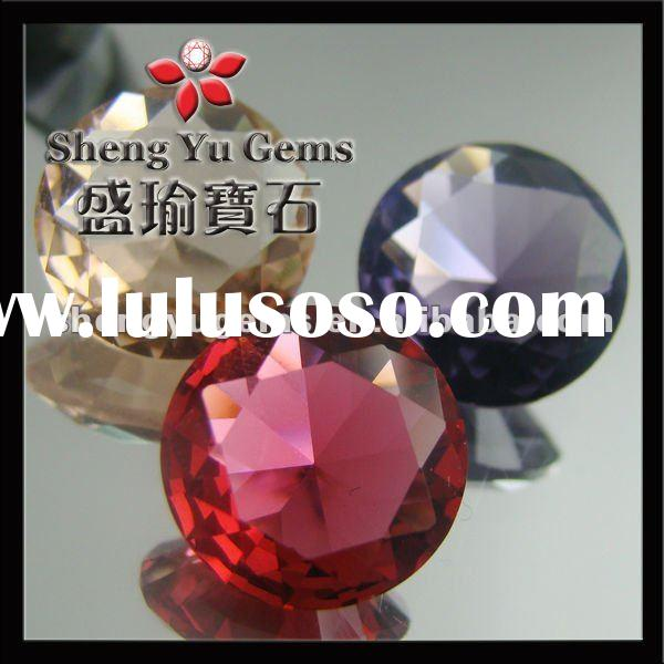 Pretty Round Decorative Glass Diamond Gems & Decoration Bead & Glass Bead GLRD-KR10#-12mm (1