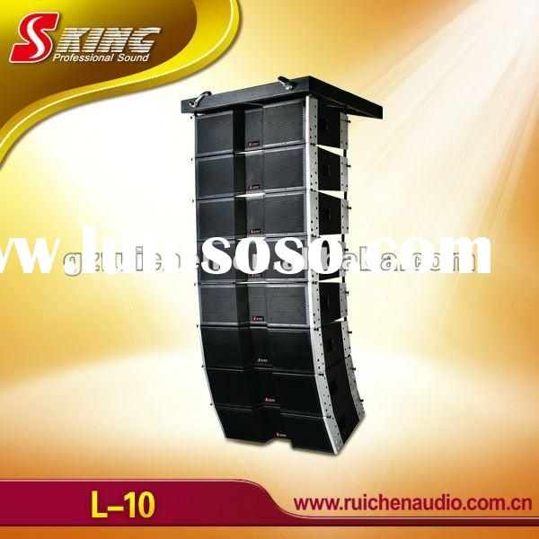 Profesional Audio System, Dual 10 inch Line Array (L-10)