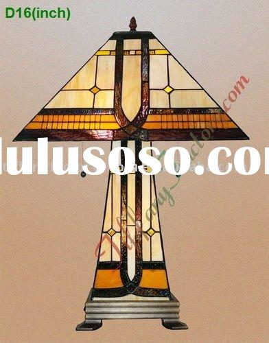 Tiffany Stained Glass Table Lamp-LS16T000742-LBTZ0160