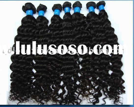 Top quality human remy hair weaving