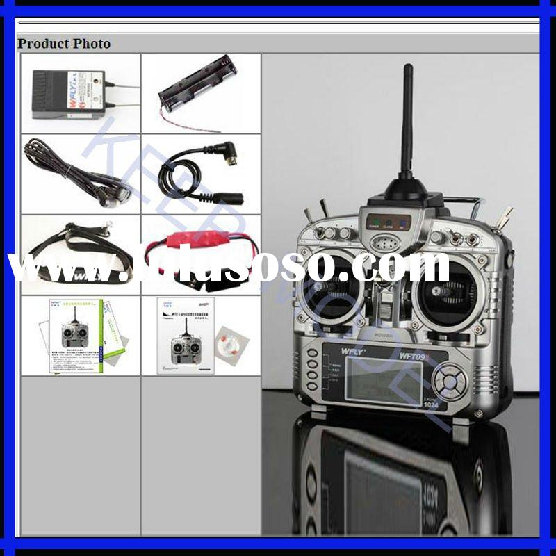 Transmitter and Receiver 2.4GHz 9CH (TX+RX) for airplane/helicopter/glider/car/boat