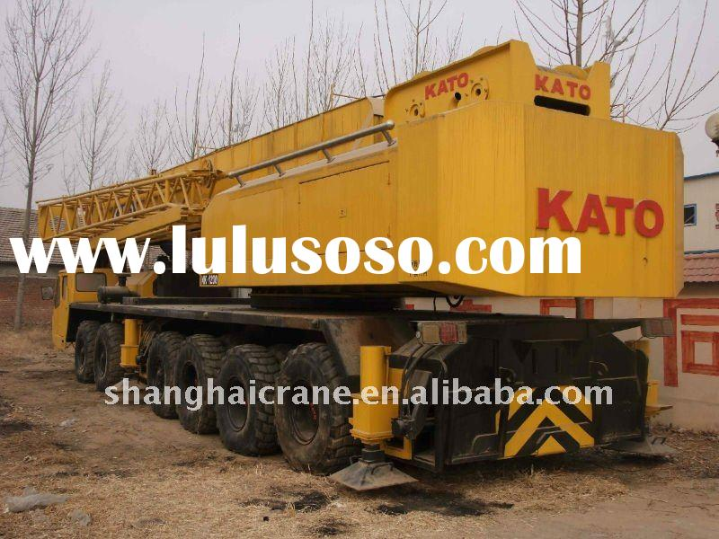 Used Truck Crane KATO NK1200 120ton in good working condition