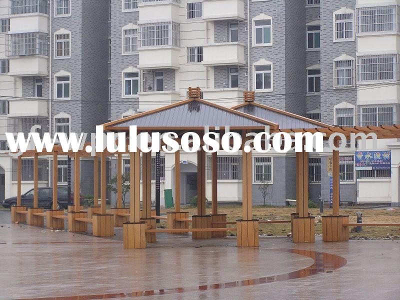 WPC outdoor gazebo,wood composite plastic gazebo,wood gazebo