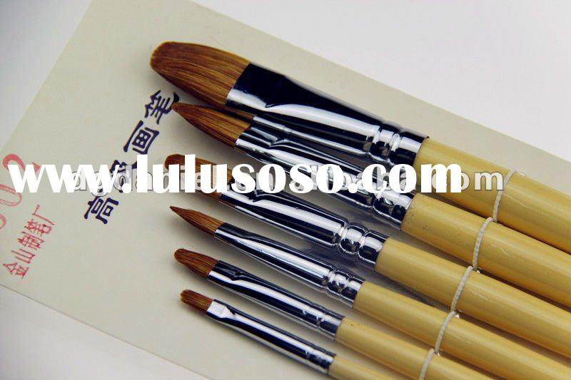 Yellow Artist brush/ oil painting brush