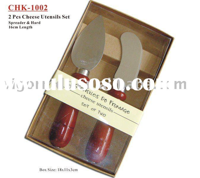 (CHK-1002) Cheese Knife Utensils with Paper Box Packing