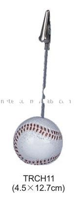 baseball shape Name card Holder